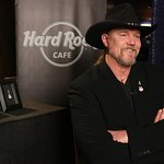 Trace Adkins Launches Hard Rock Limited Edition Red Cross Pin