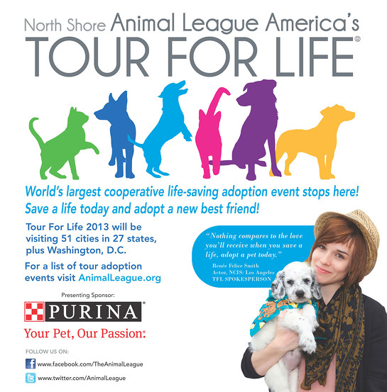 North Shore Animal League America's 13th annual Tour For Life
