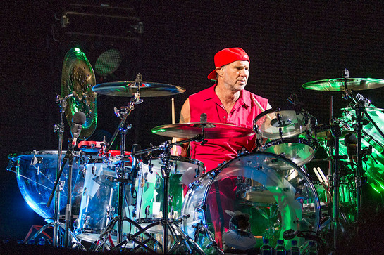 Chad Smith of the Red Hot Chili Peppers (photographed here) and Other Renowned Artists Join Music Industry's DC Fly-In to Advocate for Music Education.