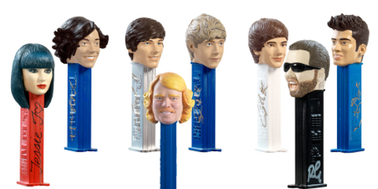 Celebrity Charity Pez-Heads