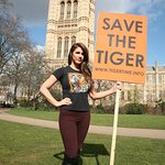 Lucy Pinder Highlights Tiger Conservation At Westminster