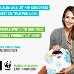 Jessica Alba Named As Earth Hour Ambassador