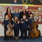 Sting Visits School With In Harmony Project