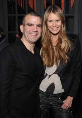 Elle Macpherson and Barry Karacostas