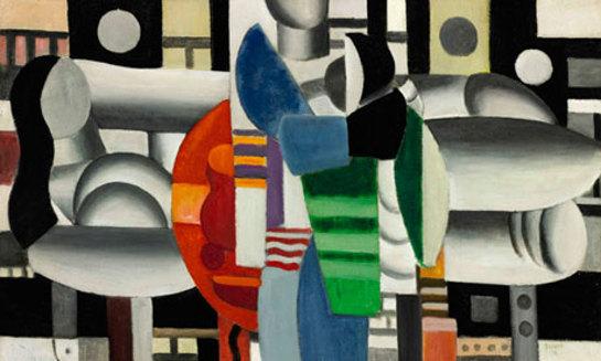 Fernand Léger's Trois Femmes à la Table Rouge