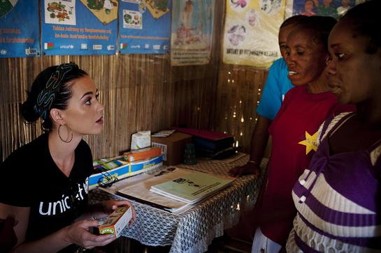 Katy Perry Visits Madagascar With UNICEF