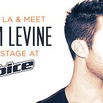 Meet Adam Levine At The Voice For Charity