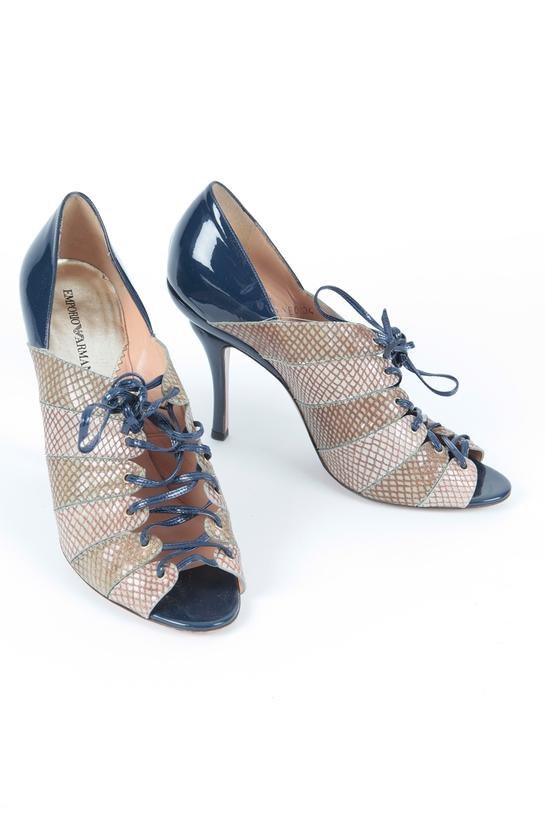 Shirley Bassey's Emporio Armani Shoes