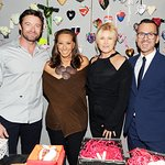 Hugh Jackman Attends Fashion For Haiti Event