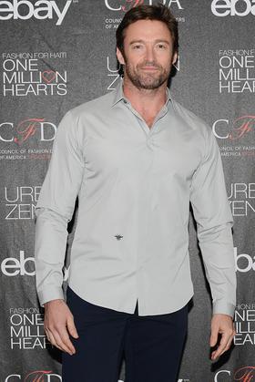 Hugh Jackman at Fashion for Haiti: One Million Hearts Launch Event