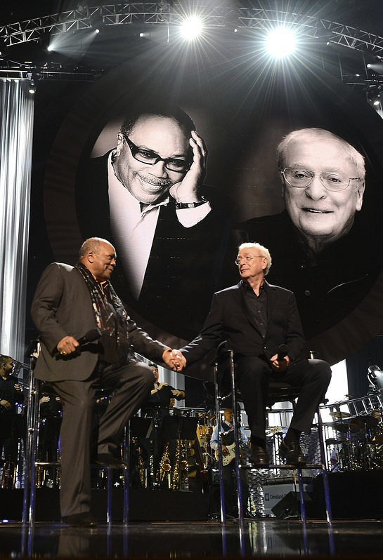 Quincy Jones and Sir Michael Caine at Keep Memory Alive's Power of Love Gala