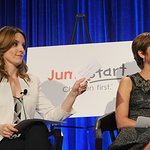 Tina Fey Participates In Jumpstart's Annual Scribbles To Novels Event‏
