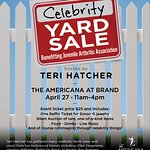Teri Hatcher To Hold Her Annual Celebrity Yard Sale For Charity