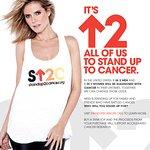 Heidi Klum Stands Up To Cancer