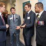 Prince Harry Visits Brain Injury Charity