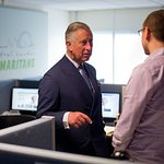 Prince Charles Visits Samaritans Head Office
