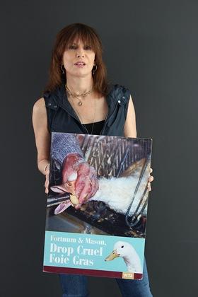 Chrissie Hynde Anti-Foie Gras