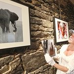 Dylan McDermott Exhibits Photos, Supports Abused Women