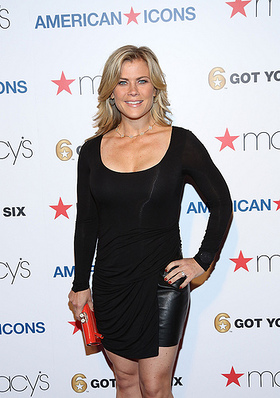 Alison Sweeny at the Macy's American Icons launch event