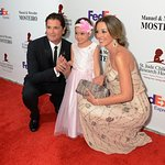 Daisy Fuentes Celebrates with 5-Year-Old Cancer Survivor