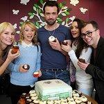Hollyoaks Stars Celebrate Anniversary of Ronald McDonald House Manchester