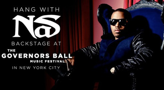 Hang with Nas in New York City