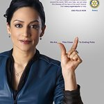 Archie Panjabi Travels to India to Help Eradicate Polio