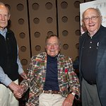 George H.W. Bush Hosts Screening Of Honor Flight