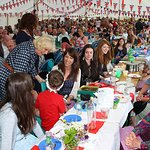 Duchess Of Cornwall Takes Part In Big Lunch Event