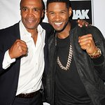 Usher Joins Sugar Ray Leonard At Charity Fight Night