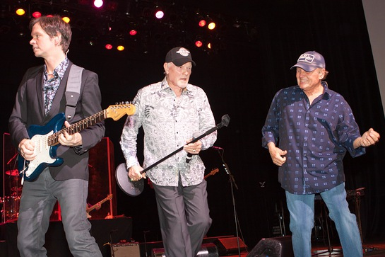 Scott Totten, Mike Love and Bruce Johnston