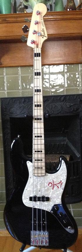 Geddy Lee Signature Fender Jazz Bass Guitar