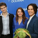 Celebrities Celebrate World Oceans Day At Oceana Event