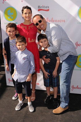 Jessica and Jerry Seinfeld at Baby Buggy Bedtime Bash sponsored by Johnson&Johnson and Britax/Bob