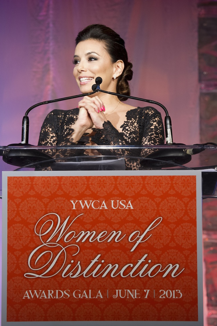 Eva Longoria Honored By YWCA