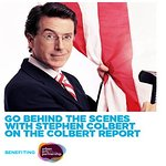 Go Behind-The-Scenes With Stephen Colbert For Charity