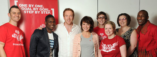 Damian Lewis and Helen McCrory Visit Prince's Trust