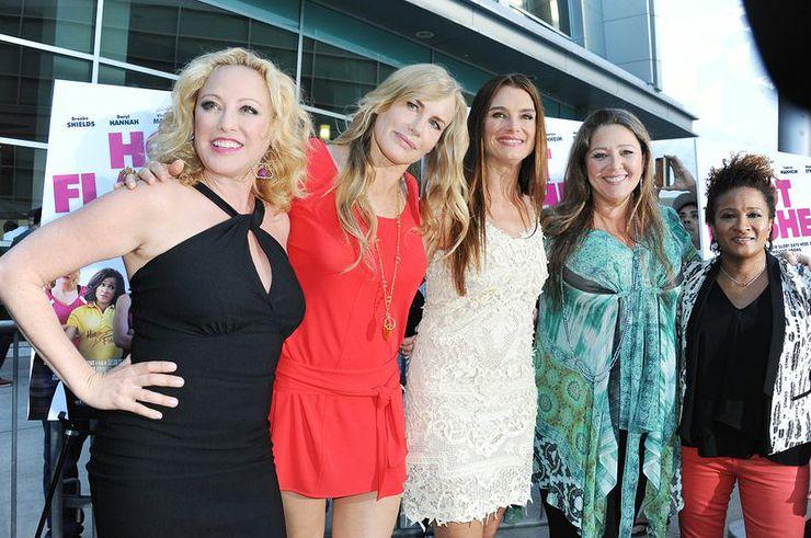 Virginia Madsen, Daryl Hannah, Brooke Shields, Camryn Manheim, Wanda Sykes