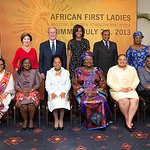 George W. Bush And Michelle Obama Join African First Ladies In Tanzania