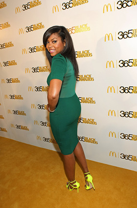Award-winning actress Taraji P. Henson hosted the 10th annual McDonald's(R) 365Black Awards, held at the New Orleans Theater, on July 6.