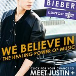 Justin Bieber Donates VIP Tickets To Help The Healing Power Of Music