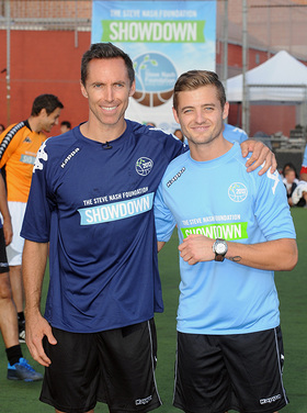 Steve Nash and Robbie Rogers