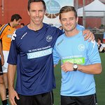 Robbie Rogers Honored At Steve Nash Showdown
