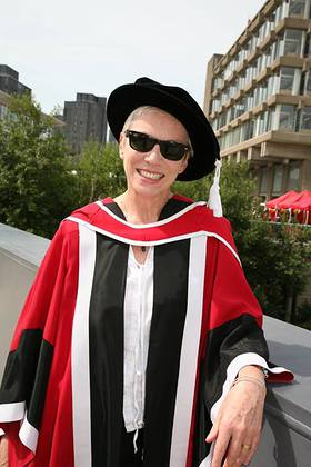 Annie Lennox Awarded Honorary Degree by the University of Essex