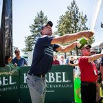 NBA Star Wins Korbel Celebrity Charity Champagne Spray-Off