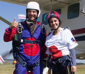 Katie Melua Goes Skydiving For Charity