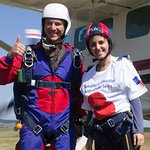 Katie Melua Skydives For Royal British Legion