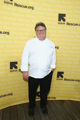 Chef David Burke at GenR Summer Party