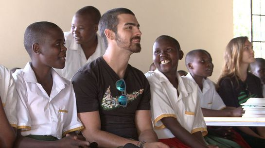 Joe Jonas in Kenya