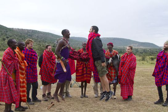 Joe Jonas - Maasai Warrior Training